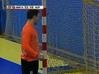 Andebol :: MMTS Kwindzyn - 25 x Sporting - 27 de 2009/2010 - Final Taça Challange - 1Mao