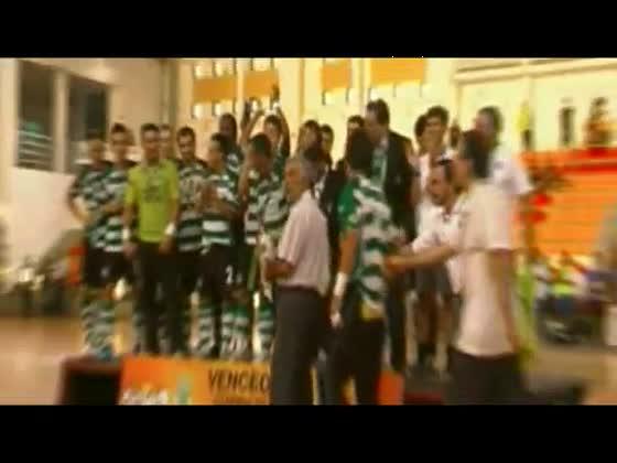 Futsal :: Sporting - 5 x Belenenses - 2 de 2010/2011 Supertaça