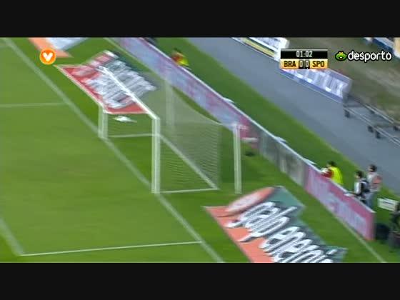 30J :: Braga - 0 x Sporting - 1 de 2010/2011
