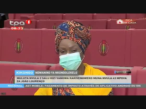 Notícias em língua nacional - Kikongo