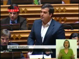 Resposta de Duarte Marques aos Deputados da oposição sobre o abandono escolar