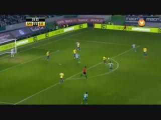 Sporting CP 3-0 Estoril - Golo de Adrien Silva (20min)