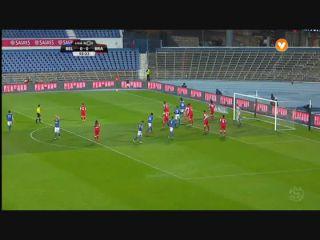 Belenenses 3-0 Sporting Braga - Golo de Gonçalo Silva (56min)