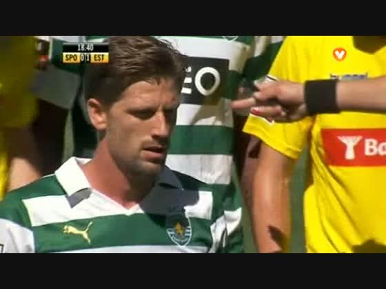 30J :: Sporting - 0 x Estoril - 1 de 2013/2014