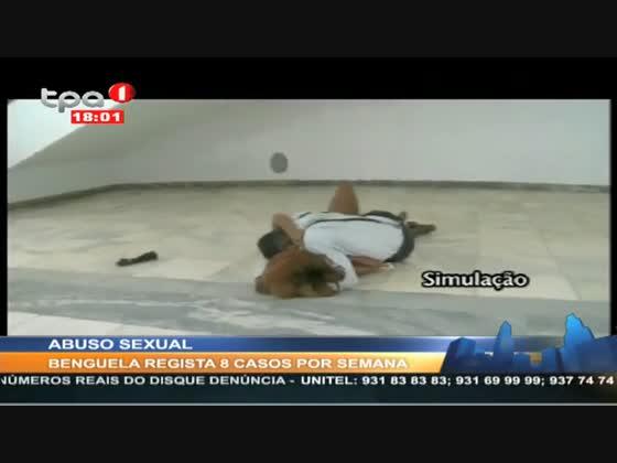 8 casos de abuso sexual por semana, Benguela