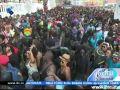 Mandingas comandam o enterro Carnaval em São Vicente