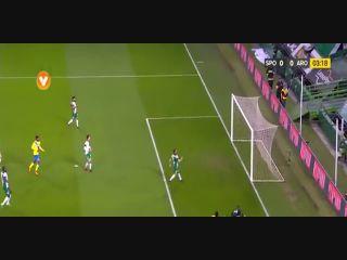 Resumo: Sporting CP 1-0 Arouca (30 November 2016)