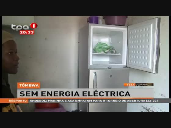 Tômbwa sem energia eléctrica