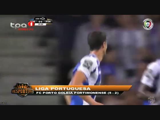 """FC Porto é líder com 21 pontos """"Liga NÓS"""""""