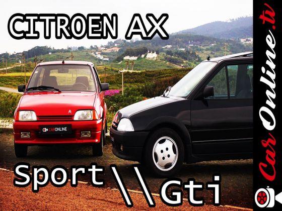 Citroen AX SPORT e AX GTI: Carburadores vs Injecção Electrónica