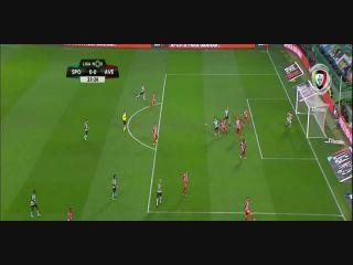 Resumo: Sporting CP 3-0 Desportivo Aves (14 Janeiro 2018)