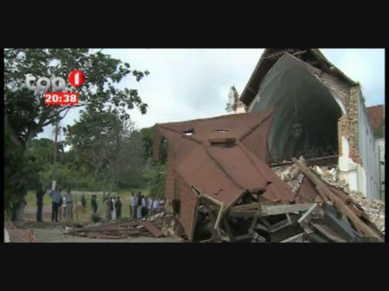 Igreja de Lândana - Começaram as obras de restauração em Cabinda