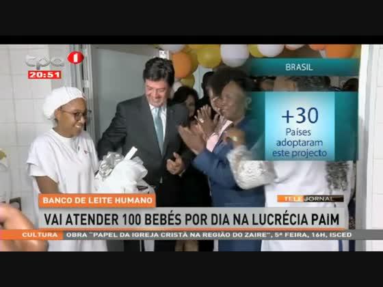Banco de Leite Humano - Vai atender 100 bebés por dia na Lucrécia Paim
