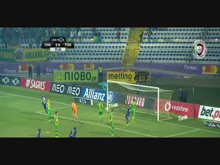 Chaves 2-1 Tondela - Golo de André Luis (20min)