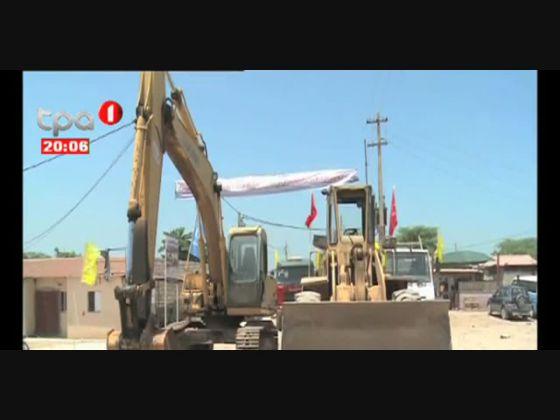 Obras de requalificação do Panguila avaliadas em 500 milhões de Kwanzas