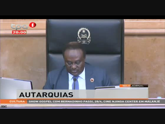 """""""Autarquias"""" proposta de leis passa a especialidade com votos favoráveis da oposição"""