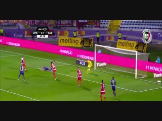 Chaves 1-2 Desportivo Aves - Golo de André Luis (48min)