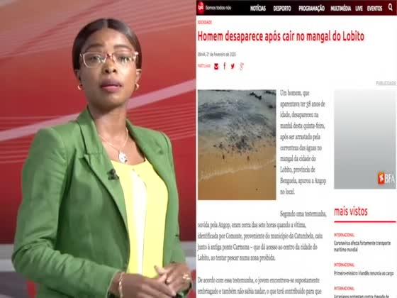 Notícia em 1 Minuto com Leda Dombaxi